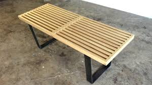 Diy Bench Diy Modern Slatted Bench Modern Builds Ep 39 Youtube