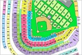Progressive Field Seating Chart With Seat Numbers Key Arena Seating Chart Travelmoments Co