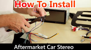 how to correctly install an aftermarket car stereo wiring harness rh you com wiring diagram for
