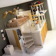Superb Kids Set Up For Small Spaces, Awesome Desk, Bed, And Closet In One