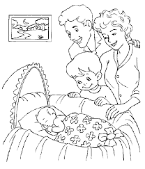 Small Picture Baby Coloring Pages Free Printable Coloring Pages