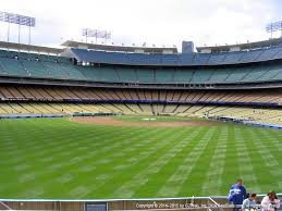 Dodger Stadium View From Left Field Pavilion 311 Vivid Seats