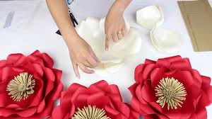 How To Make Paper Flower Backdrop