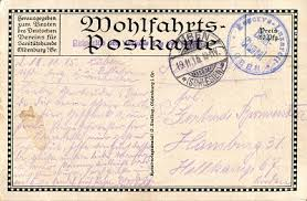 Allerlei Zeitdokumente 1915