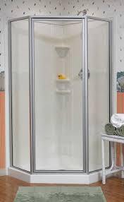 corner shower stalls. Framed Neo Angle Corner Shower Stalls