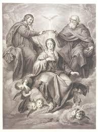 Resultado de imagen para  coronación de la virgen por el papa