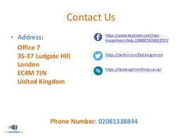 How to write london address
