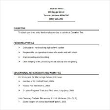 Single Page Resume Template Enchanting One Page R Best Resume Template One Page Resume Template