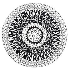 Zentangle Pattern Ideas Adorable Zentangle Art How To All Sorts Of Ideas Which Materials To Use