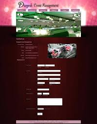 Event Website Template Inspiration Event Website Template Planner Responsive Management Templates Free