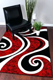 white area rug 5x7 white area rugs 5x7 red black swirl rug carpet modern abstract you