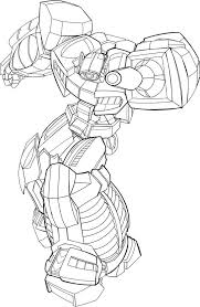 Dinobots Roar Wip By Kevinraganit On Deviantart Coloring Rescue Bots