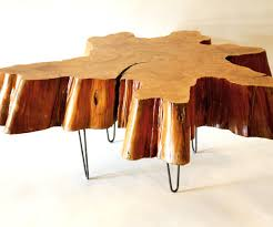 ... Large-size of Pretentious Reclaimed Tree Stump Coffee Table On Vintage  Hairpin Tree Stump Coffee ...