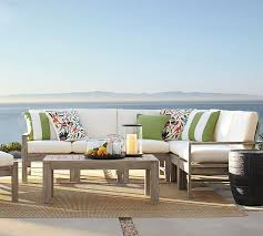 architecture and home endearing pottery barn outdoor rugs on indio sectional set pottery barn outdoor