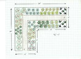 free garden design perennial cutting garden