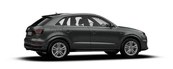 black audi. meet the audi q3 black