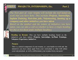 Resume writing for students and freshers SlideShare