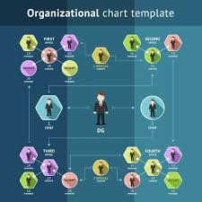 Creative Organization Chart Design Business Organization Structure By Microvector On Creative