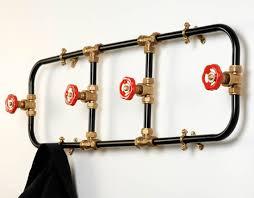 Diy Pipe Coat Rack Impressive 32 DIY Amazing Coat Racks Projects