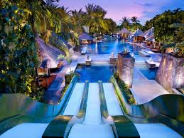 residential indoor pool with slide. Hard Rock Hotel Bali Resorts With Waterslides Kids Guide Residential Indoor Pool Slide