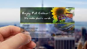 Translucent Plastic Business Cards Clear Plastic Card Printing