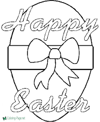 Free printable easter coloring pages. Easter Coloring Pages