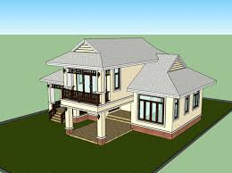thai style homes plans house