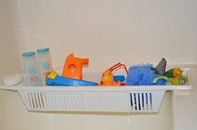 storage basket tray for baby bath toys zoom