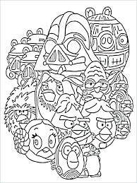 Star Wars Coloring Pages Bb8 Free For Kids Colors In Princess Leia