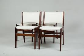 solid rosewood chairs by erik buch 1960s set of 4 3