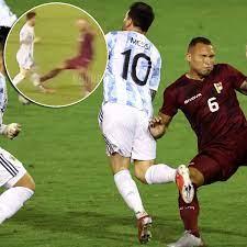 Schlimmes Foul an Lionel Messi bei WM ...