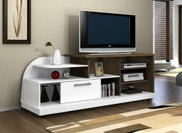 Cool Tv Stand Ideas tv stands 10 incredible design tv stand with side shelves ideas 6340 by uwakikaiketsu.us