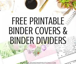 create binder cover printables by design download them or print