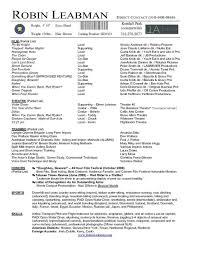 Oceanfronthomesforsaleus Terrific Resume Example Cv With Personal