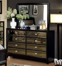 wood and mirrored furniture.  And Bedroom Furniture Dressers With Mirror Accent Leaning Silver  Drawers Tall Leather Mirrored Large Square Cute Throughout Wood And T