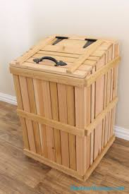 Kitchen Garbage Can Best 25 Rustic Kitchen Trash Cans Ideas On Pinterest Trash Can