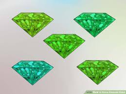 Emerald Gem Color Chart How To Know Your Emeralds Value Evaluating Clarity Color