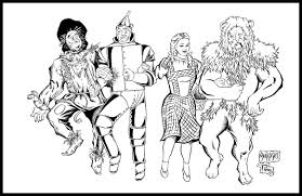 Small Picture Wizard Of Oz Munchkins Coloring Page Free Printable Pages And