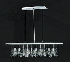 modern bar lighting. Trinity Modern Crystal Bar Light - W:90cm-Designer Chandelier Australia Lighting T