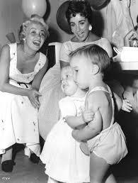 elizabeth taylor children. Fine Elizabeth Jane Powell And Elizabeth Taylor With Their Children 1955 To Children A