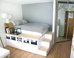 Diy Platform Bed With Storage Easy Instructions To Build A King Size