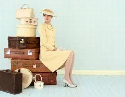vintage luggage. vintage luggage