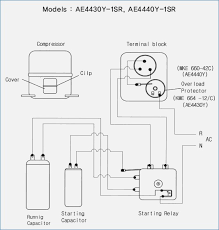 embraco compressor wiring diagram pleasing vvolf me embraco compressor diagram fresh refrigerator pressor wiring in