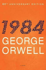 it was a bright cold day in april and the clocks were striking thir nine eighty four george orwell book covers strange book