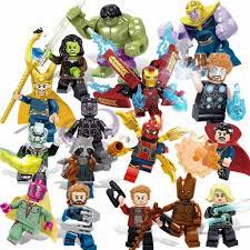 Lego blocks 16 chiếc Avengers 3 Siêu anh hùng Câu đố lắp ráp lớn Lắp ráp  khối xây dựng nhỏ Đồ chơi túi Opp, Giá tháng 1/2021