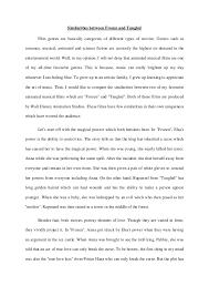 fnbe english essay  similarities
