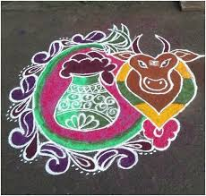 Pongal is celebrated on jan 15th this year and what's special about it? Pongal Kolam The Madras Advertising Co