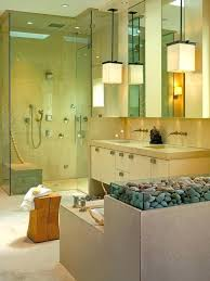 bathroom lighting trends. Bathroom Lighting Trends Calming Oasis With Spa Stones Projects And Designs S