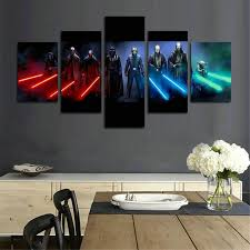 stars wars wall art