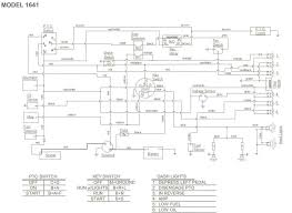 wiring diagram for cub cadet tractor the wiring diagram i have a cub cadet garden tractor 1641 a 42 inch mower wiring diagram
